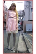 vintage dress - vintage dress - socks store in harajuku socks - on the coach sho