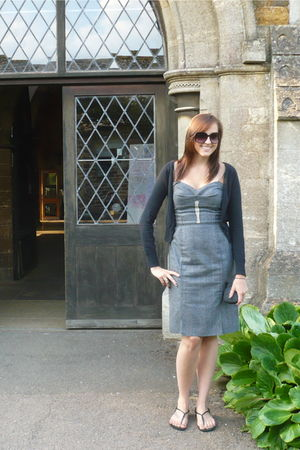 gray Dolce & Gabbana dress