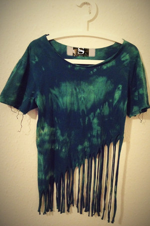 fringe Lost Spirit Lounge top