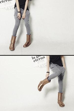 gray stylish baggy Dahong pants