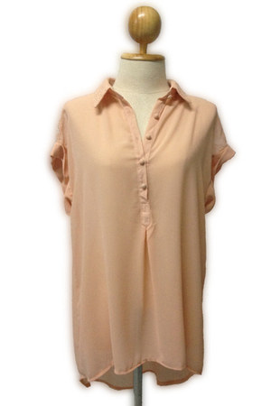 peach tunic myChickPea top