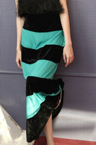 Teal-bohemian-mychickpea-skirt