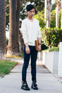 Black-balenciaga-boots-navy-reversible-cult-of-individuality-jeans