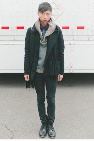 black Brown Sound coat