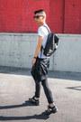 Black-backpack-kao-pao-shu-bag