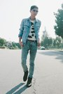 Light-blue-acid-washed-levis-jeans-sky-blue-h-m-jacket