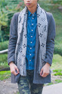 Dark-brown-tweed-zara-coat-dark-green-camo-cult-of-individuality-jeans