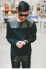 Black-yohji-yamamoto-shoes-black-zara-sweater-black-tom-ford-sunglasses