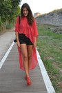 Stefania-silvestri-blouse-zara-sandals