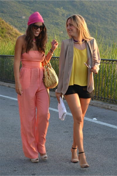 Stefania silvestri jacket - Stefania silvestri dress - Miu bag - Prada sandals