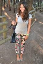 Zara flats - H&M Trend leggings