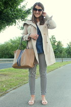 hopeshow coat - Bershka shirt - Parfois bag