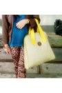 Brown-forever-21-jacket-dark-brown-zara-leggings-yellow-ghost-bag