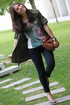 Zara shoes - Stradivarius jacket - Massimo Dutti bag - Zara t-shirt