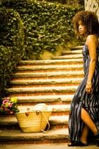 black Charlie Jade dress - black Birkenstocks sandals