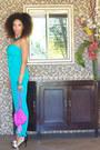 Target-purse-aquamarine-charlie-jade-bodysuit-target-heels