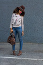 F21-jeans-justfab-shoes-f21-hat-gap-jacket-target-shirt-dior-purse