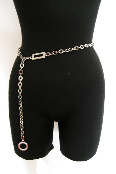 silver chain not marked belt