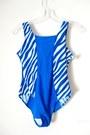 Blue-swimwear