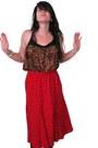Leslie-fay-skirt