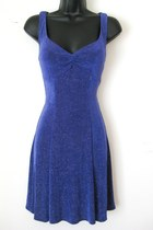 Vintage Slinky Purple Sequin Dress, SMALL