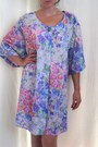 Mumu-polyester-top-notch-dress