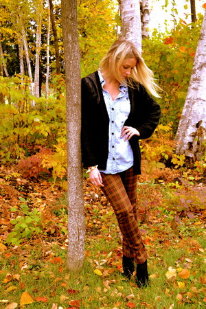 Somedays Lovin sweater - the gap shirt - Gypsy Junkies pants