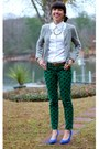 White-banana-republic-shirt-heather-gray-club-monaco-sweater