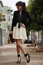 Maroon-vintage-bag-brown-tres-noir-sunglasses-off-white-annie-jade-skirt