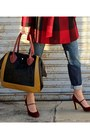 Black-pour-la-victoire-bag-brick-red-banana-republic-coat