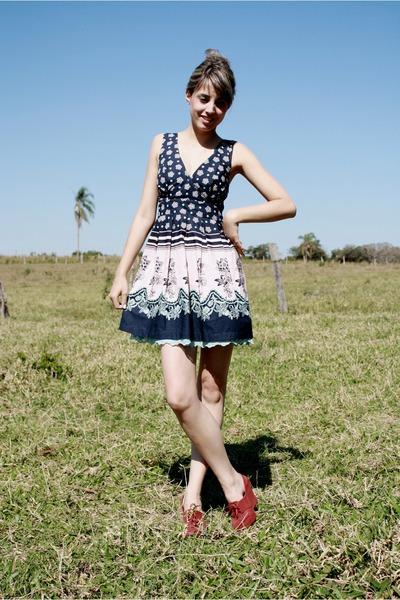 black Melissa shoes - Antix dress