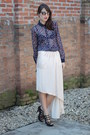 Dark-brown-o-pato-veste-sunglasses-navy-zara-blouse-light-pink-zara-skirt