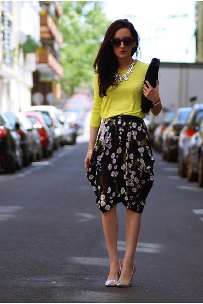 Front Row Shop skirt - Front Row Shop t-shirt