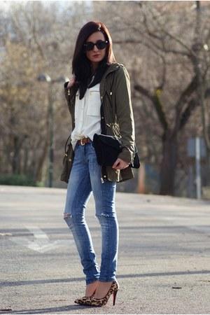 Choies coat - PERSUNMALL heels
