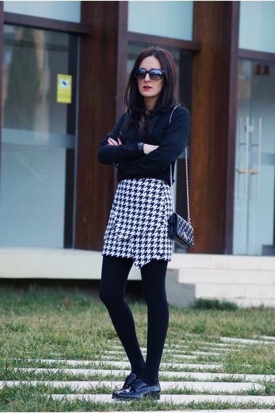 Front Row Shop skirt - asos shoes - PERSUNMALL shirt