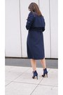 White-diy-dress-navy-diy-coat-black-zara-heels