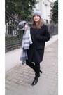 Black-zara-boots-heather-gray-zara-scarf