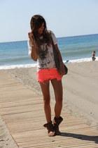 fluor shorts for the beach