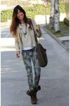 jacket - boots - jumper - pants