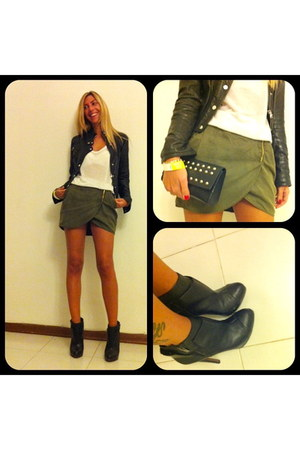 Bershka shoes - Mango jacket