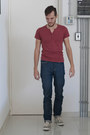 Skinnyguy-naked-famous-jeans-maroon-henley-top