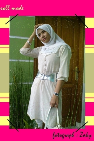 Zara belt - karita butik dress - al-fath collection scarf - lupa accessories - C
