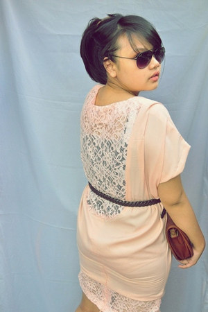 nude lace dress vintagefrom gogril magzstore dress