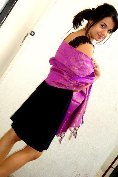 silk scarf dress. amethyst silk scarf scarf
