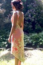 ivory vintage lace basia poletovvska dress