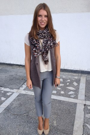 silver  denny rose pants