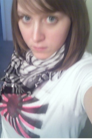 Target scarf - self-made shirt