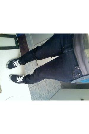 Express jeans - Vans shoes