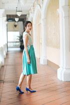 Lauren Jasmine dress - H&M heels