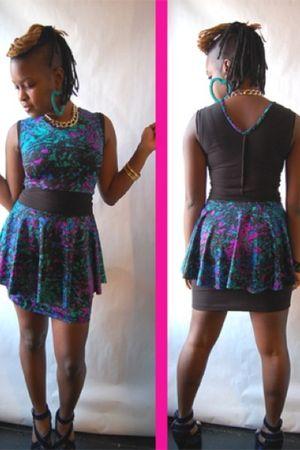 purple naKiMuli dress